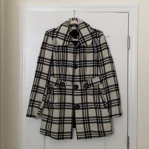 Women's Plaid Coat